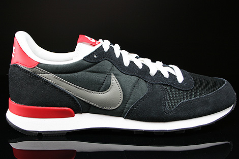 nike internationalist white black red