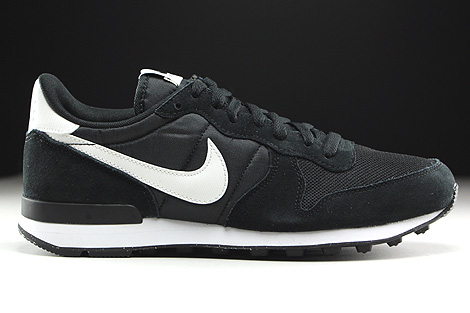 Nike Internationalist Black Summit White Neutral Grey White