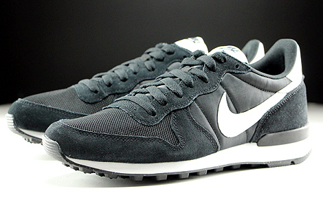 Nike Internationalist Black Summit White Neutral Grey White Sidedetails