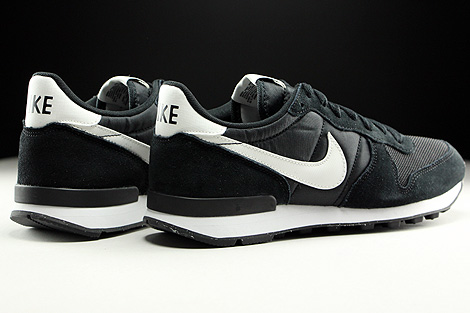 Nike Internationalist Black Summit White Neutral Grey White Back view