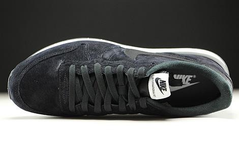 Nike Internationalist Leather Black Dark Grey White Over view