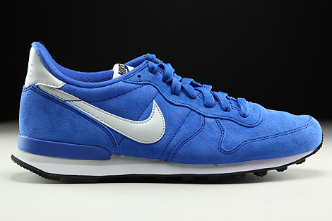 Nike Internationalist Leather Game Royal Pure Platinum Black White Right