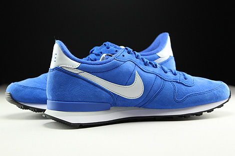 Nike Internationalist Leather Blau Grau Weiss Schwarz Innenseite