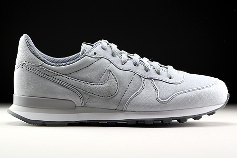 Nike Internationalist Premium Hellgrau Grau Weiss