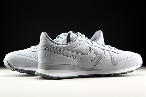 Nike Internationalist Premium Hellgrau Grau Weiss Innenseite