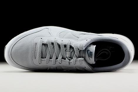 Nike Internationalist Premium Hellgrau Grau Weiss Oberschuh