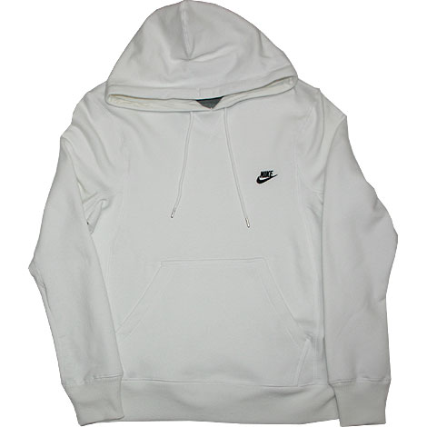 dfe6d5528506c Nike Johnson Hoody Brushed Weiss 263255-100 - Purchaze