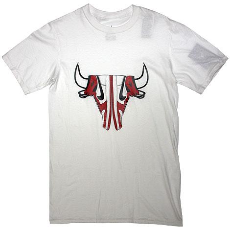 Nike Air Jordan Js Aint No Bull Tee White