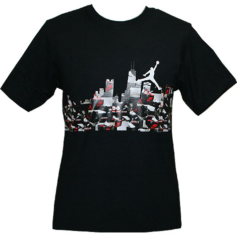 Nike Air Jordan Skyline Tee Black