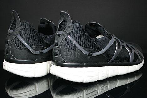 Nike Kukini Free Black Anthracite Sail Back view