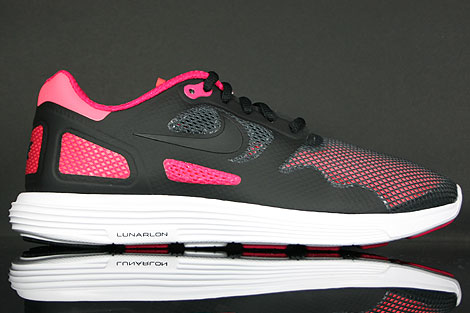 Nike Lunar Flow Black Voltage Cherry Right