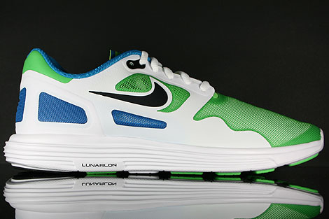 Nike Lunar Flow Neo Lime Black White Right