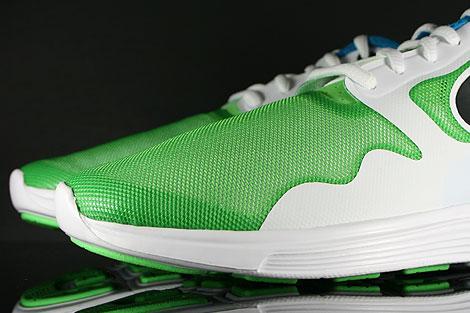 Nike Lunar Flow Hellgruen Schwarz Weiss Blau Innenseite