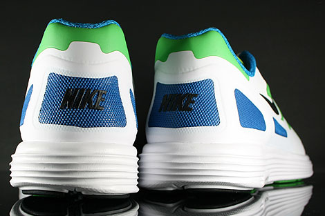 Nike Lunar Flow Neo Lime Black White Over view