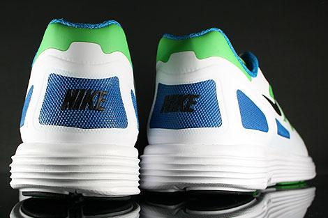 Nike Lunar Flow Hellgruen Schwarz Weiss Blau Oberschuh
