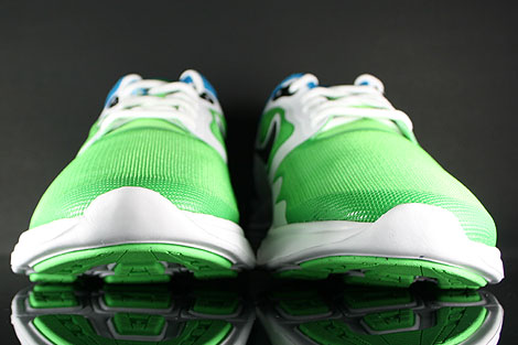 Nike Lunar Flow Hellgruen Schwarz Weiss Blau Schuhkarton