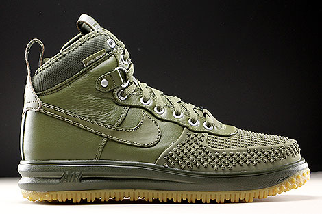 Nike Lunar Force 1 Duckboot Oliv