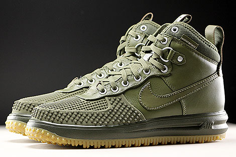 Nike Lunar Force 1 Duckboot Medium Olive Profile