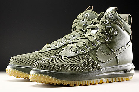 Nike Lunar Force 1 Duckboot Medium Olive Sidedetails