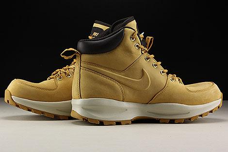 Nike Manoa Leather Hellbraun Braun Beige Innenseite