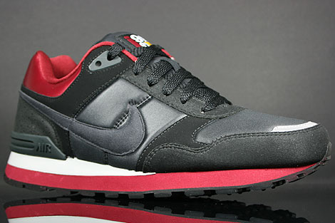 Nike MS78 LE Black Anthracite Team Red Grey Sidedetails