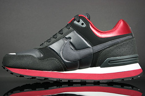 Nike MS78 LE Black Anthracite Team Red Grey Back view