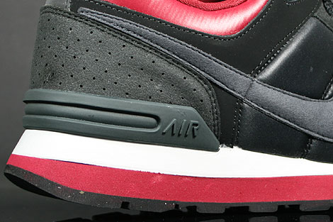 Nike MS78 LE Black Anthracite Team Red Grey Outsole