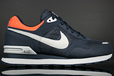 Nike MS78 LE Dark Obsidian Grey Orange Blaze