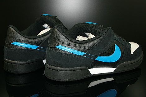 Nike Renzo 2 Black Photo Blue Neutral Grey Back view
