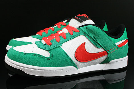 Nike Renzo 2 Green Red White Black Profile