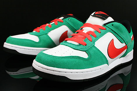 Nike Renzo 2 Green Red White Black Sidedetails