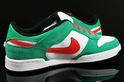 Nike Renzo 2 Green Red White Black Inside