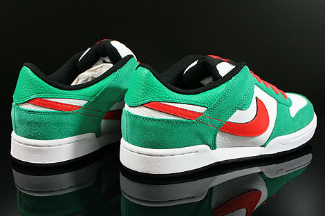 Nike Renzo 2 Green Red White Black Back view