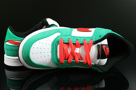 Nike Renzo 2 Green Red White Black Over view