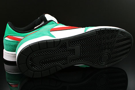 Nike Renzo 2 Green Red White Black Outsole