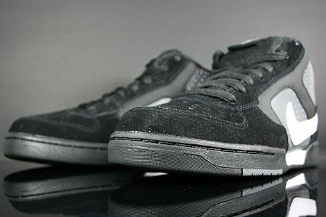 Nike Renzo Mid Black White Dark Grey Inside