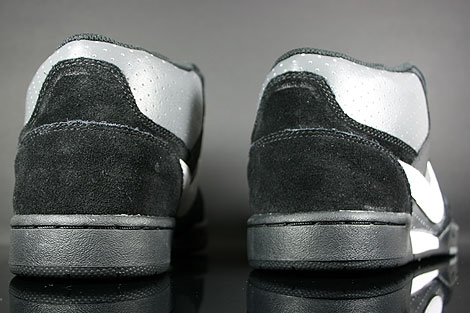 Nike Renzo Mid Black White Dark Grey Over view