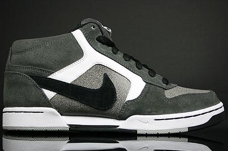 Nike Renzo Mid Anthrazit Grau Weiss Schwarz
