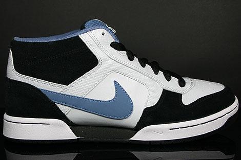 Nike Renzo Mid Blau Weiss Schwarz Seitenansicht
