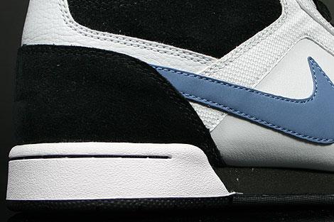 Nike Renzo Mid Blau Weiss Schwarz Laufsohle