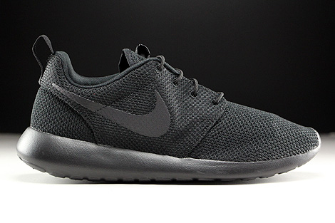 Nike Roshe One Black Black Right
