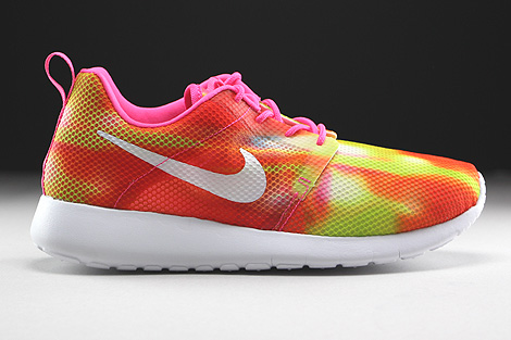 ... Nike Roshe One Flight Weight GS Pink Pow White Right ...