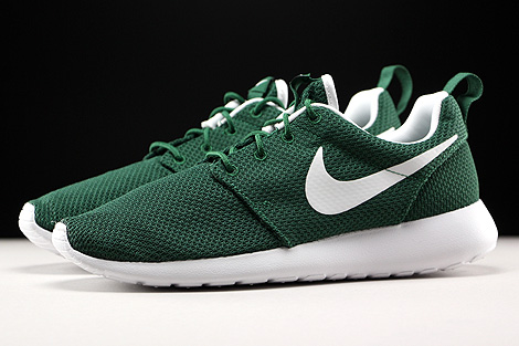 Nike Roshe One Gorge Green White Profile