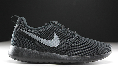 2143c79ddd12 Nike Roshe One GS Black Cool Grey 599728-017 - Purchaze