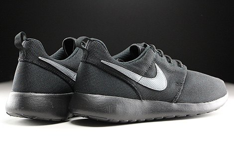 Nike Roshe One GS Black Cool Grey Back view
