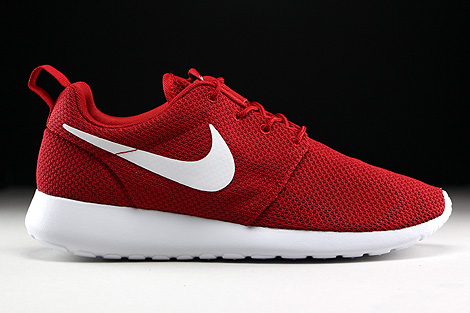 nike roshe one rot weiss 511881 612 purchaze. Black Bedroom Furniture Sets. Home Design Ideas
