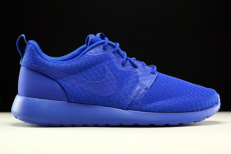 detailed look 8fe03 4f69f ... Nike Roshe One Hyp Racer Blue Black Right ...
