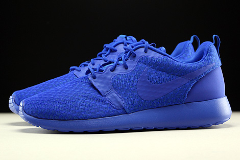 Nike Roshe One Hyp Racer Blue Black Profile