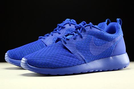 Nike Roshe One Hyp Racer Blue Black Sidedetails