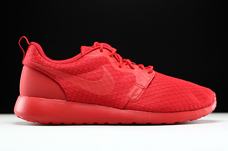 Nike Roshe One Hyp University Red Black Right
